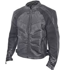 perforated leather motorcycle jacket armored mens perforated leather motorcycle jacket