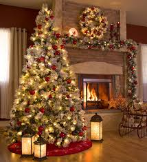 christmas remarkable decorated christmas trees decorate ideas