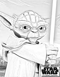 clone wars coloring pages clone wars yoda 2 u2013 cartoon jr craft