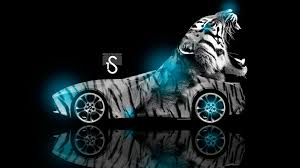 Cool Animal Wallpapers by Neon Tiger Wallpaper Wallpapersafari