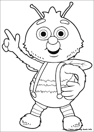 flowertots coloring picture