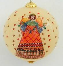 861 best reverse handpainted christmas ornaments images on