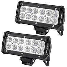 led security light bar auxbeam led light bar 9 54w off road driving lights waterproof spot