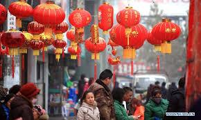 new year shopping begin shopping for celebrating festival china org cn