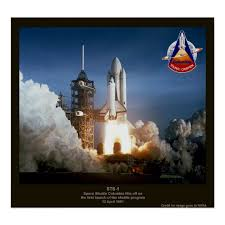 space shuttle launch sts 1 columbia poster zazzle