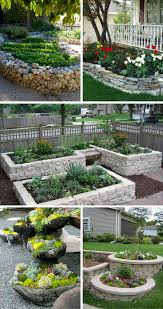 stunning stone flower beds you can easily make stone flower and