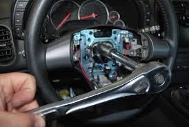 corvette steering wheel cover diy steering wheel removal and clock corvetteforum