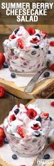 summer berry cheesecake salad with video