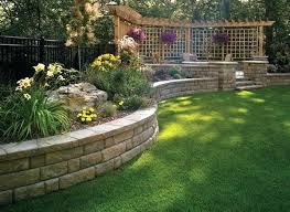 Retaining Wall Ideas For Gardens Garden Walls Ideas Alexstand Club
