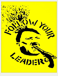 new follow your leader movie poster vintage customized fashion