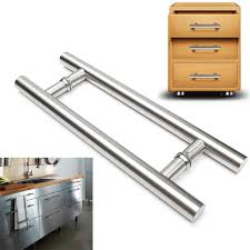 Stainless Steel Knobs For Kitchen Cabinets 17 7 U0027 U0027 450mm Door Handle 304 Stainless Steel Door Handle Kitchen