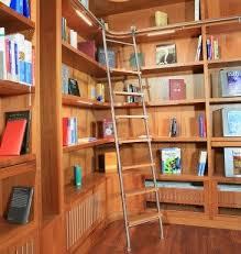 Sliding Bookshelf Ladder Vario Library Ladder System