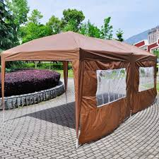 10x20 ft ez pop up wedding tent party foldable gazebo 3 walls eas