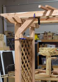 sneak peek a diy garden arbor diy done right