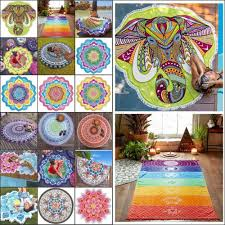 indian wall art ebay boho wall tapestry beach throw towel mandala indian hippie beach mat blanket uk