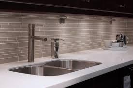 Backsplash Kitchen Glass Tile by Blue Mosaic Linear Glass Tiles Backsplash Home Improvement