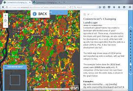 Esri Story Maps Part 3 Customizing Connecticut U0027s Changing Landscape Story