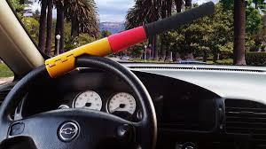 volante tipo traba volante tipo bate antirrobo para carro 25 000 en mercado