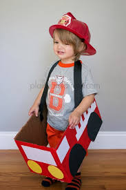 diy firetruck halloween costume pbkhalloween plain vanilla mom