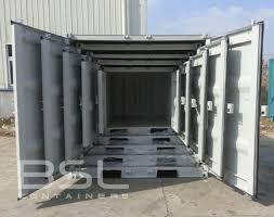steel storage containers various types door options