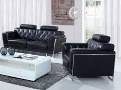 canap cuir noir canapé cuir pas cher chez la maison du canapé