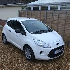 2012 ford ka 1200cc petrol manual only 17k white