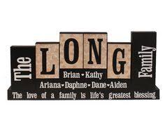 Decorative Letter Blocks For Home Word Blocks Home Decor Family Name Block Letters Home Decor Custom