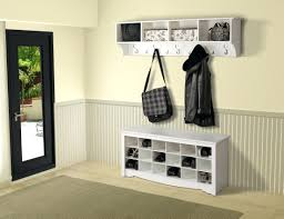 Wooden Entryway Bench White Entry Bench With Storage White Wooden Entryway Storage Bench