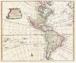 Map Of South America And North America by File 1747 Bowen Map Of North America And South America Western