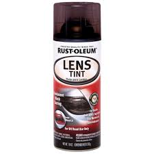 black light spray paint home depot rust oleum automotive 10 oz lens tint spray paint 6 pack 253256