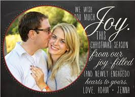 engagement announcement cards christmas card engagement announcement christmas card and gift 2018