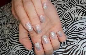 acrylic nails l infill l pretty simple u0026 short l nail design youtube