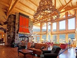 log cabin luxury homes luxury listing mammoth lake log cabin estate