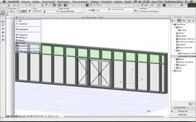 doors and windows in the curtain wall archicad youtube