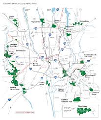 parks map park locations map metro parks central ohio park system