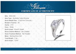 925 sterling silver v shaped heart promise ring size 5 6 7 8 9 10 jewelrypalace 2 2ct halo solitaire engagement ring genuine 925