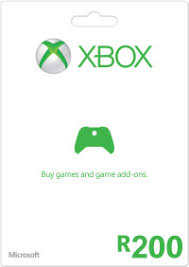xbox live gift cards r200 xbox live gift card digital email delivery prepaidgamer