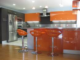 ORANGE GLOSS KITCHEN DESIGNS Modern Kitchen San Diego By - Orange kitchen cabinets