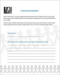change the world u2013 fun martin luther king jr day activities for