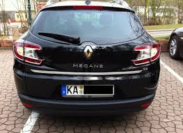 renault kadjar trunk renault megane iii grandtour estate 08 16 chrome trim strip lid