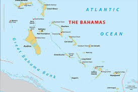 bahamas on map bahamas map blank political bahamas map with cities