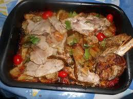 cuisiner epaule agneau recette d epaule d agneau rotie aux blettes