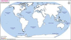 outline of world map world continents outline map continents blank map