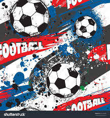 Football Flag Printing Abstract Seamless Pattern Boy Grunge Sport Stock Vector 601706348