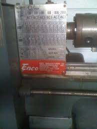 new to me enco 9 x 20 lathe