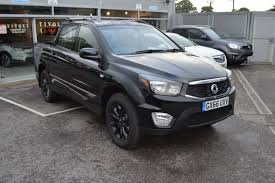 second hand ssangyong korando sports musso for sale in crawley