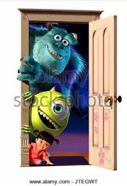 mike sulley u0026 boo monsters monsters 2001 stock photo