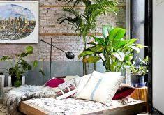 grünpflanzen im schlafzimmer brillante inspiration graues schlafzimmer haus dekoration