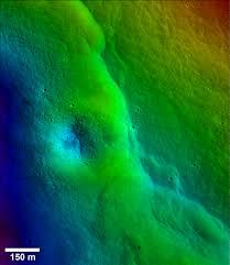 tycho crater u0027s peak nasa