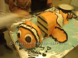 cool 10 layer 3d finding nemo cake website